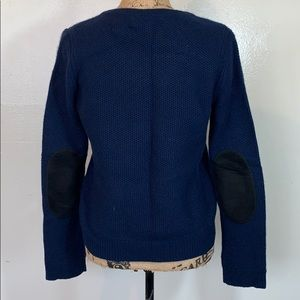 Rag and bone 100% Cashmere Elbow patch Sweater M